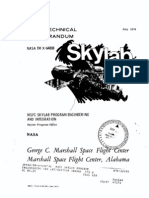 MSFC Skylab Program Engineering and IntegeratIon