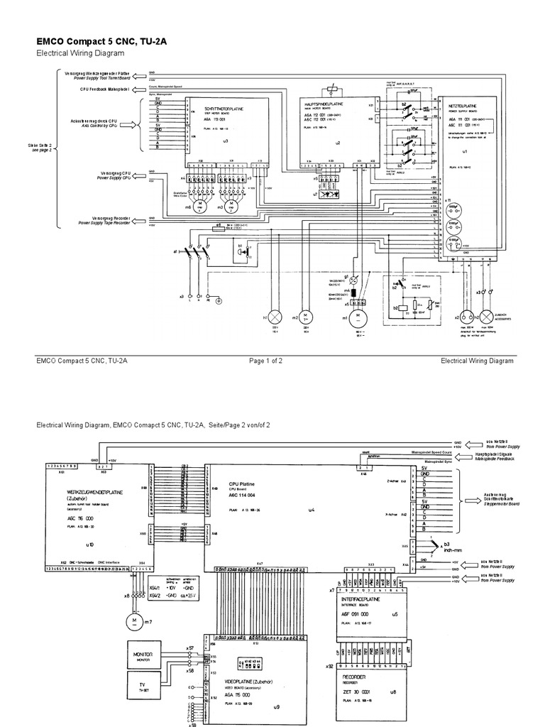 911ep Super Comander Wiring Diagram Trusted Diagrams Emco Compact 5 Cnc Electrical U2022 Kenwood
