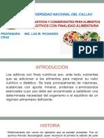 4.-Aditivos con finalidad nutritiva
