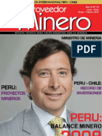 Revista Proveedor Minero Feb