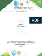 Fase 1 Caracterización de residuos sólidos y construcción compostado casero
