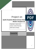 Apollo Hospital & Anwer Khan Modern Hospital Ltd.
