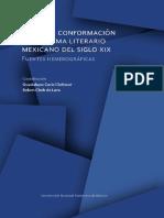 Libro - Hacia la conformación del sistema literario mexicano XIX
