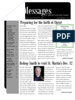 December St. Martin's Episcopal Church Newsletter