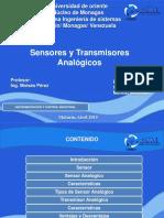 3. Sensores y Transmisores analogicos