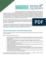 Agenda Parlamentaria de la LUC