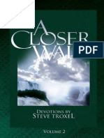 A Closer Walk with GOD Vol 2 STEVE TROXEL 129pages Complete