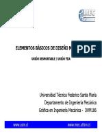 Uniones  desmontables - Uniones fijas.pdf