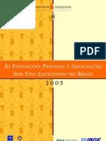 ICAP_Acervo Digital_GIFE - As Fundações Privadas e Associações Sem Fins Lucrativos no Brasil (Fasfil)