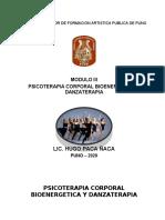 MODULO III PSICOTERAPIA CORPORAL BIOENERGETICA Y DANZATERAPIA 2020 III - SEMSTRE