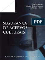 Segurança de Acervos Culturais_Maria Celina Soares de Mello e Silva (Org.) (2012)