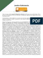 Manual De Diagnostico Enfermeria