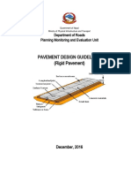 Submitted Rigid Pavement Design Guidelines_September_2018