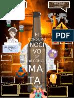 INFOGRAFIA DE PREVENCIÓN DEL ALCOHOLISMO