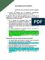 DISEÑO DE MEZCLAS DE CONCRETO-CLASE 1