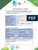 Guía - Fase 5. Desarrollar la evaluación final prueba objetiva abierta (POA)