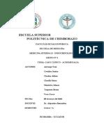Acromegalia Caso clinico