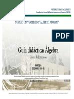 Seminario de Álgebra 3