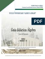 Seminario de Álgebra 5
