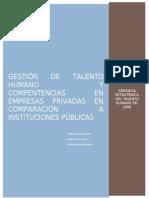 Empresas públicas y privadas-Compensación y beneficios
