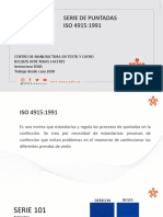 PRESENTACION SERIE DE PUNTADAS ISO 4915