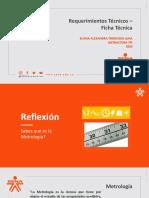 Requerimientos Técnicos - Ficha Técnica