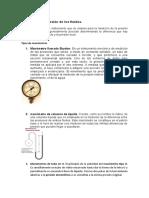 Manometría y tipos de manometros