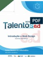 Caderno INF - Introdução a Web Design [2.ed. NOVOS_TALENTOS_EAD_2019]