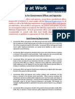 Healthy at Work Reqs - Government Offices and Agencies - Final Version - Copy