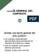 (1) Teoría General Del Contrato