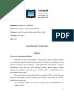 Introducción a la Filosofía. Guía de lectura, Fedón 2-2