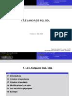 Utilisation Des BD (SQL DDL)