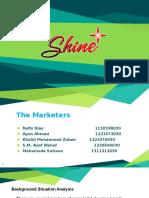 Shine+ slides