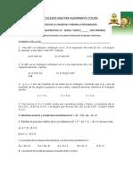 Evaluación de matemáticas almirante colon grado 10 (Autoguardado)original.