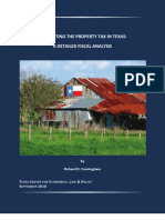 Eliminating the Property Tax in Texas a Detailed Fiscal Analysis Web Optimized Version