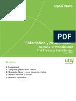 Estadistica y Probabilidad Open 2