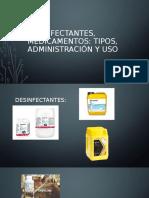 Desinfectantes, medicamentos.pptx