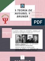 TEORIA DE AUSUBEL Y BRUNER