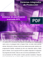 Sistemas de planificación avanzada APS