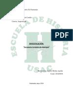 Secuencia de la Cerámica en Quiriguá