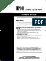 hp101 manual