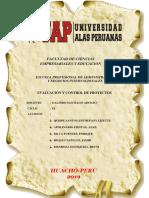 Proyecto de macerado de maracuya - UAP