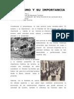 Dossier - El Turismo y su Importancia - Evoluciòn en Panamá