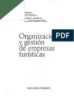 Organización y gestión de empresas turísticas