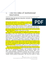 AVRITZER. the Two Faces of Institutional Innovation
