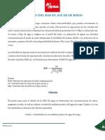 CALCULO DEL RAS EN AGUAS DE RIEGO