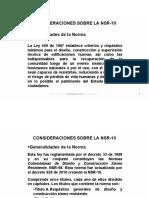 CONSIDERACIONES SOBRE LA NSR-10