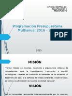 B)  Program multianual anual  UNI