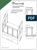 Gel-nder-U-Form-aufgesetzte-Montage-Aufmassblatt