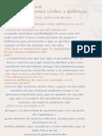 Sociedad Civil Organizaciones Civiles y Politicas